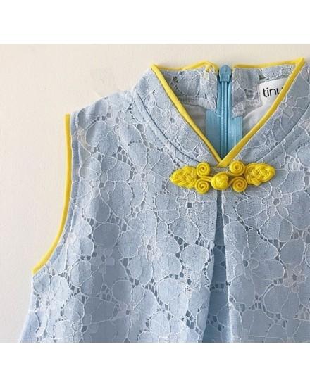 MULAN DRESS BLUE