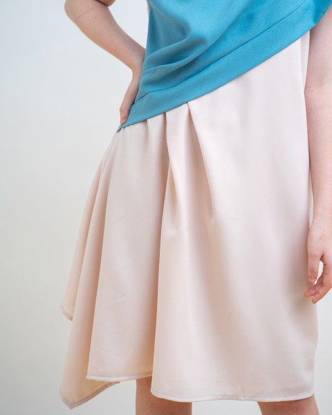 GARA DRESS BLUE