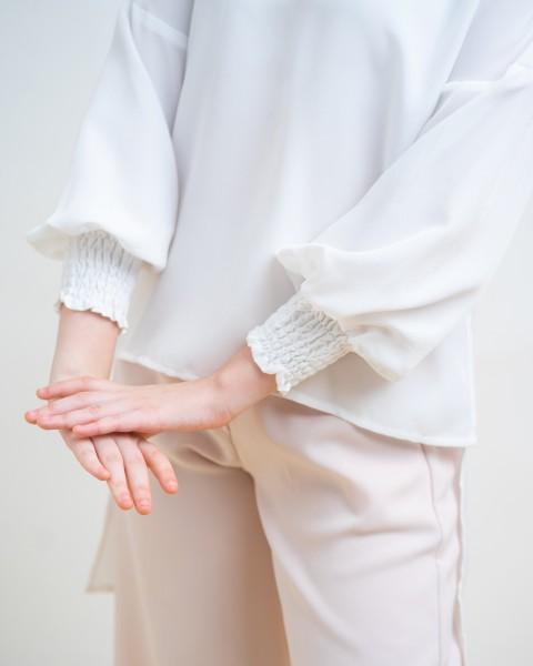 DARINE TOP WHITE
