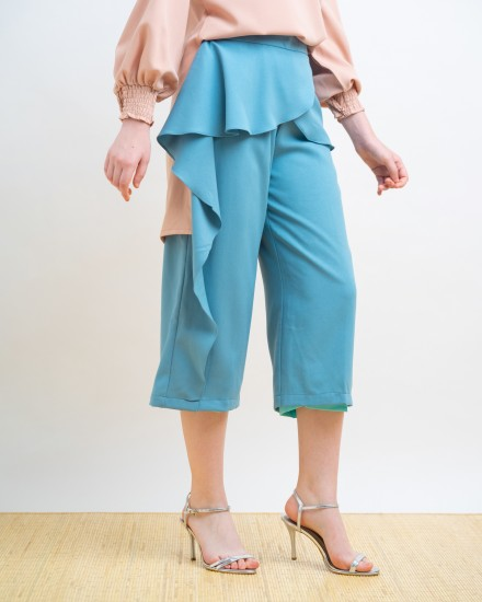 SEPHINE PANTS BLUE