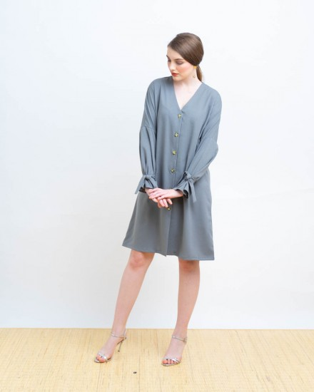 MAXINA OUTER DRESS GREY