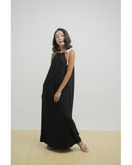 MYLA DRESS BLACK