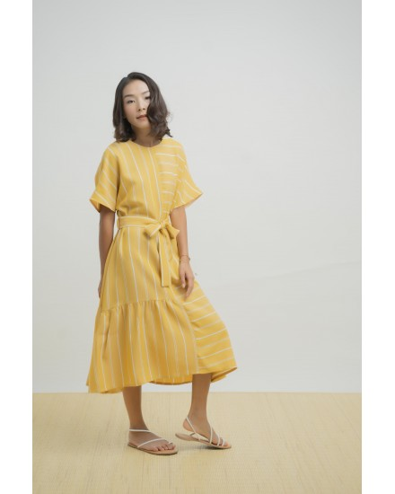 LEXI DRESS YELLOW