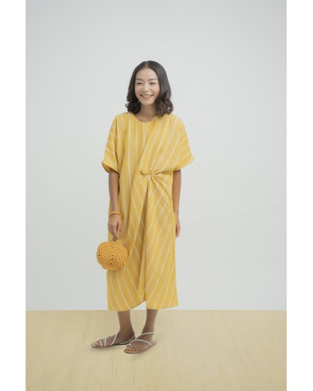 KIYOKI DRESS YELLOW