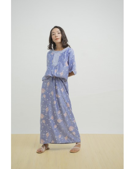 RAYLA KAFTAN DUSTY BLUE