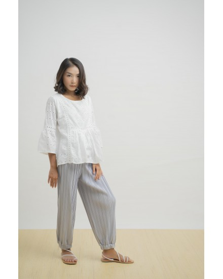 ALADIN PANTS SILVER