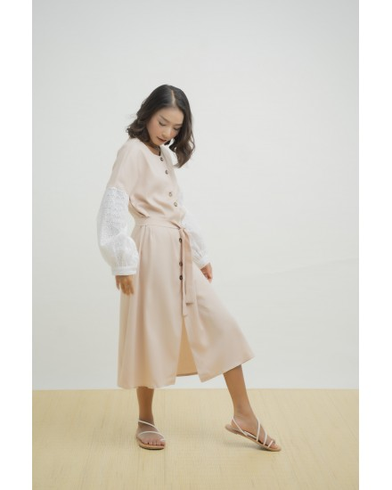 VENOLA DRESS OUTER KHAKIS