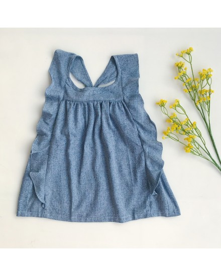 LEXI DRESS BLUE