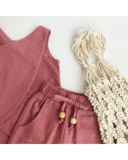 ELLIOT TOP CORAL RED