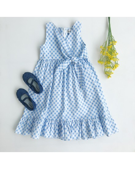 LUIGY DRESS GINGHAM