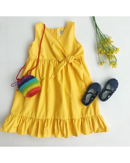 LUIGY DRESS YELLOW