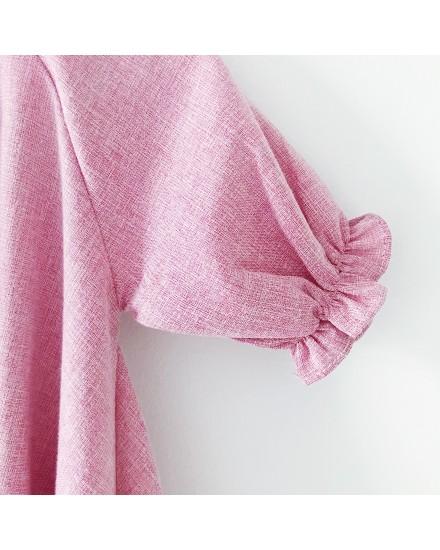 momo dress pink