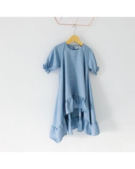 momo dress blue