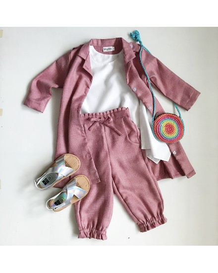 minami dress outer pink