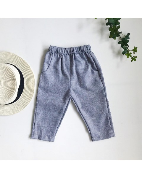 garry pants grey