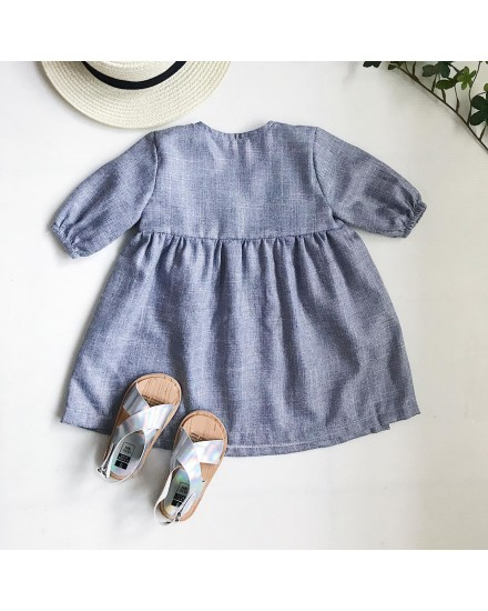 kana dress grey
