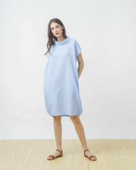 AQUA DRESS BLUE