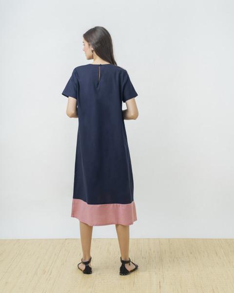 RINGGA DRESS INDIGO