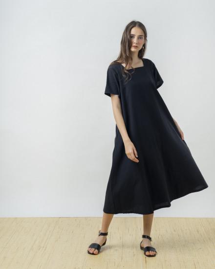 KEIRO DRESS BLACK