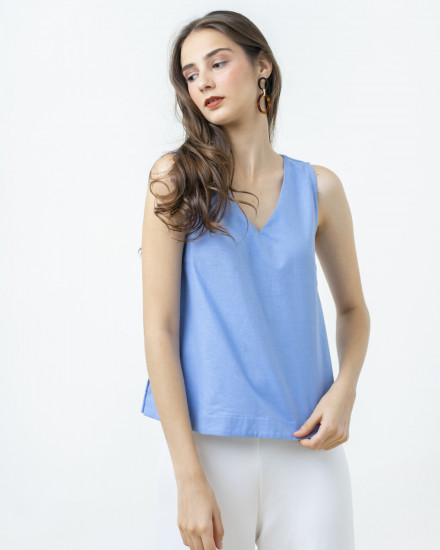 KIYO TOP BLUE
