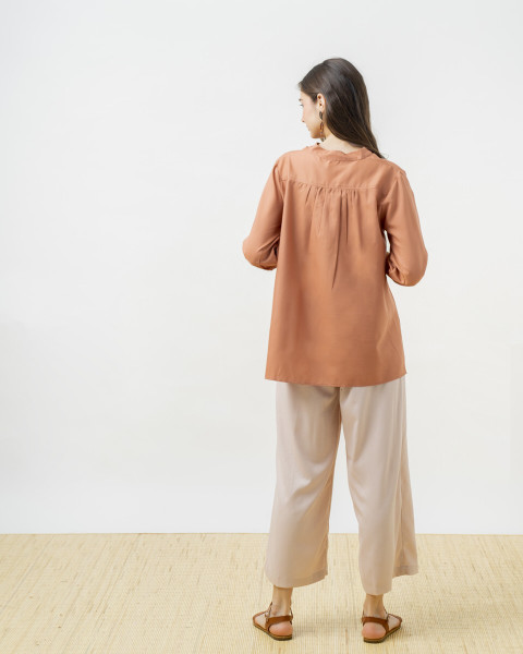 IORI SHIRT BROWN