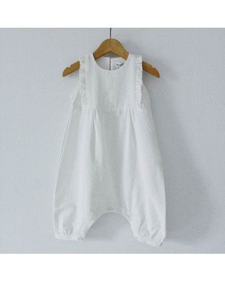 VELLA JUMPSUIT WHITE