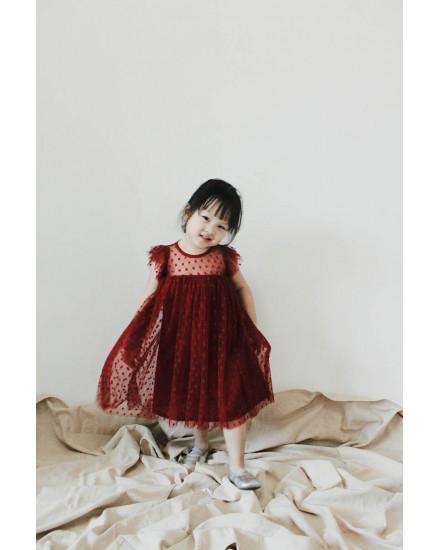 GALYA DRESS RED
