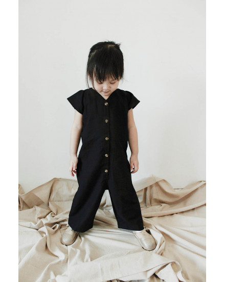 MINI ALEXI JUMPSUIT BLACK