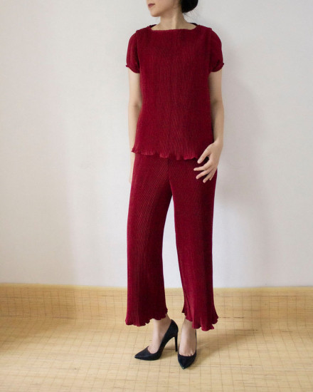 ringga pants maroon