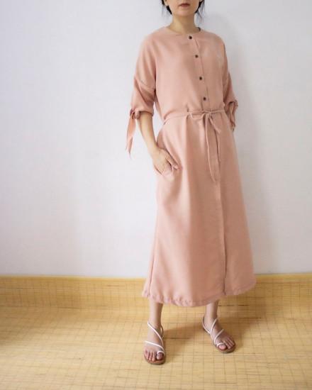 KALEXA OUTER DRESS NUDE