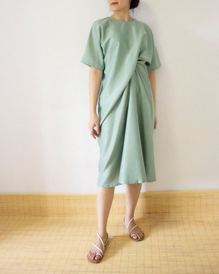 KIYOKI dress sage