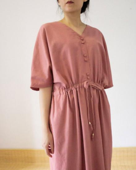 MISAKI DRESS rose
