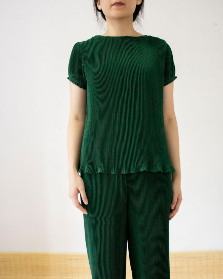 mina top green