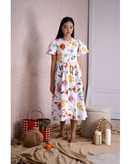 MEI DRESS FLOWER
