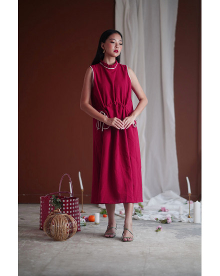 funan dress red