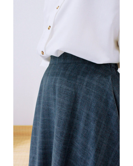 GLEN BUBBLE SKIRT