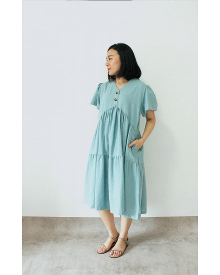 YURIA DRESS BLUE