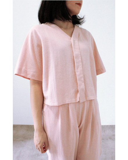 VANKA OUTER TOP PINK