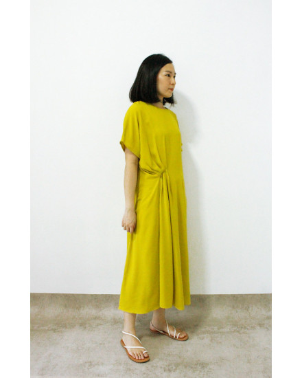 HAORI DRESS GREEN