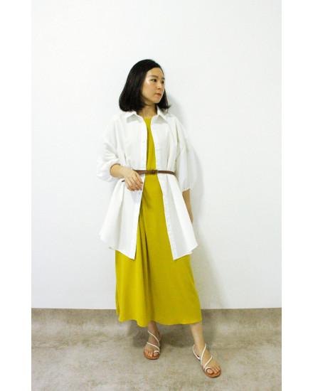 HAORI DRESS GREEN