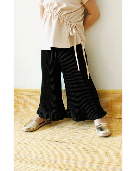 MINI BECKY PLEATS PANTS