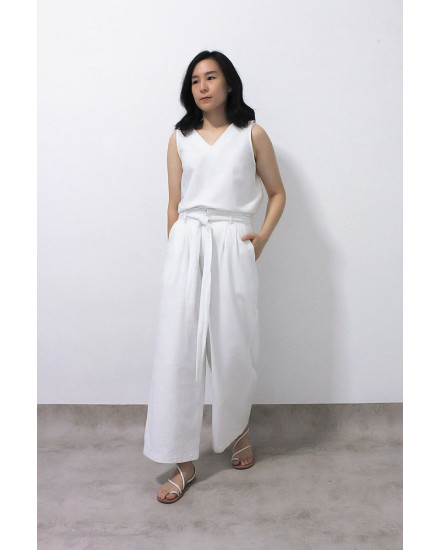 NAVEDA PANTS WHITE