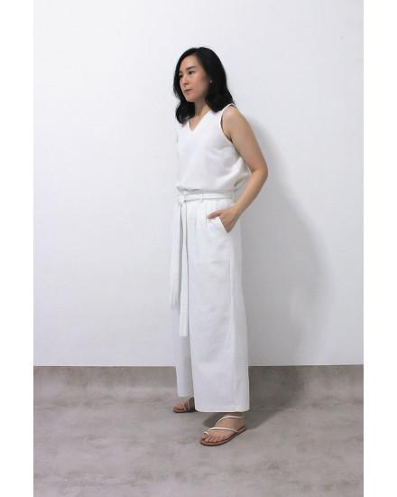 NAVEDA PANTS WHITE