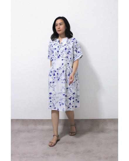 MAYDA DRESS WHITE