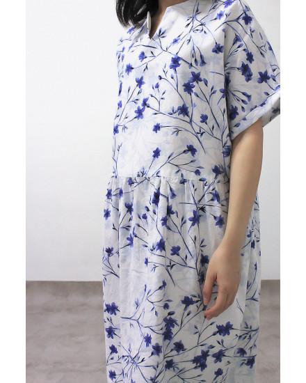 MAYDA DRESS WHITE
