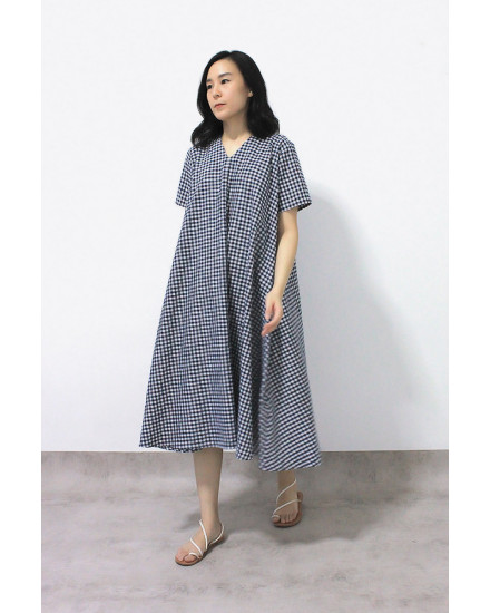 NOWA DRESS GINGHAM