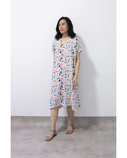 KANORI DRESS RAINBOW