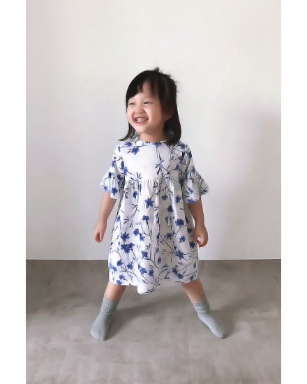 LIVIA DRESS PORCELAIN