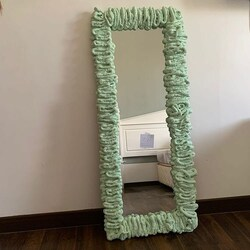 Cloud mirror also available in full body size . Choose your favourite color or ombre. Contact us for more info.