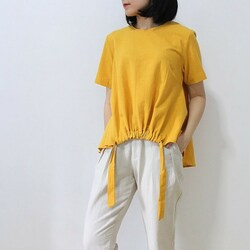 Clay top in mustard